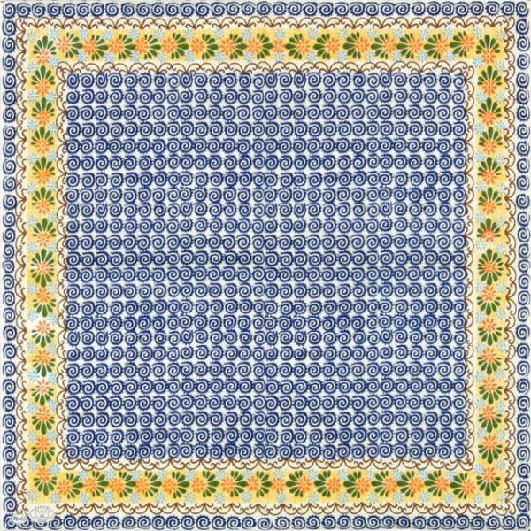 Paper Napkin - Blumenborte