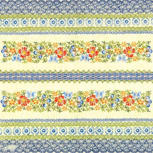 Paper Napkin - Muster Blumen