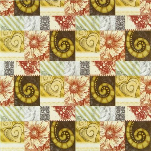 Lunch Napkins (20) - Fossil Ornaments