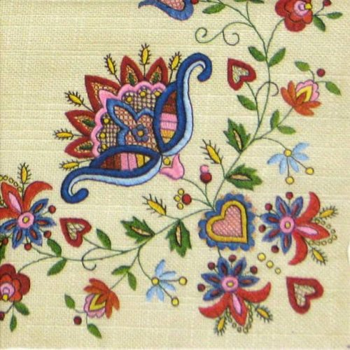 Lunch Napkins (20) - Kashubian Folk1