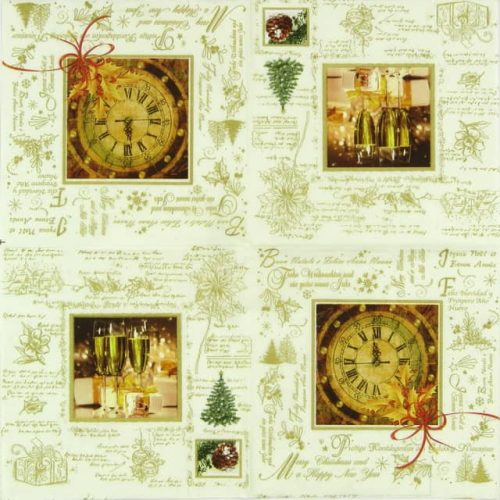Paper Napkin - Happy New Year