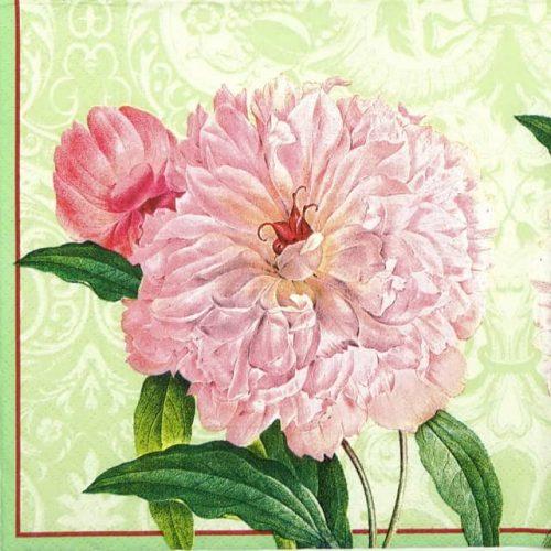 Paper Napkin - Farmer's Rose green