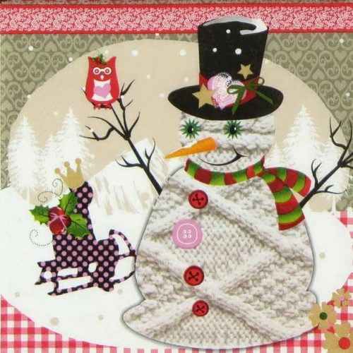 Lunch Napkins (20) - Christmas Fun