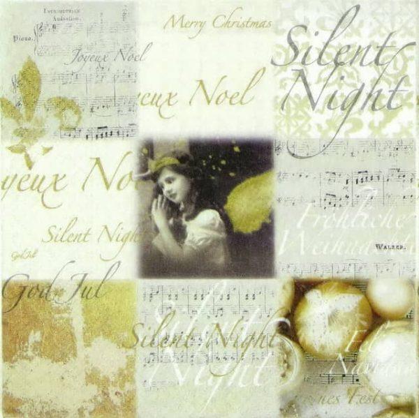 Paper Napkin - Silent Night