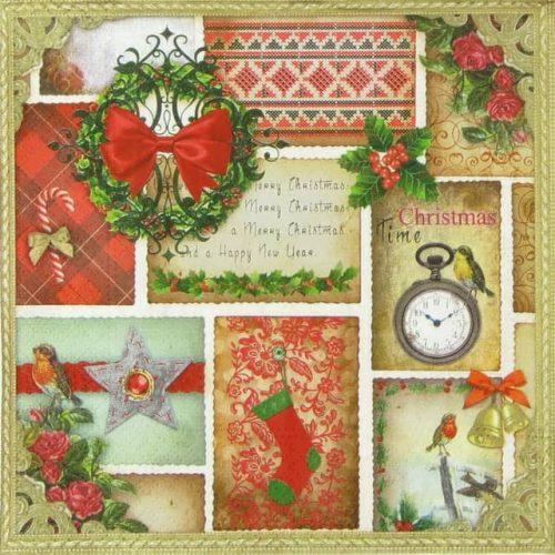 Paper Napkin - Christmas Time