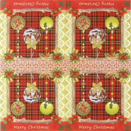 Paper Napkin - Magic X-mas