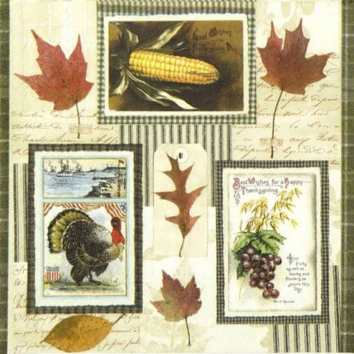 Paper Napkin - Thanksgiving