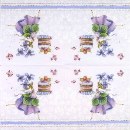 Paper Napkin - Purple Dreams