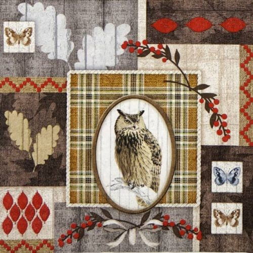Lunch Napkins (20) - In the Woods