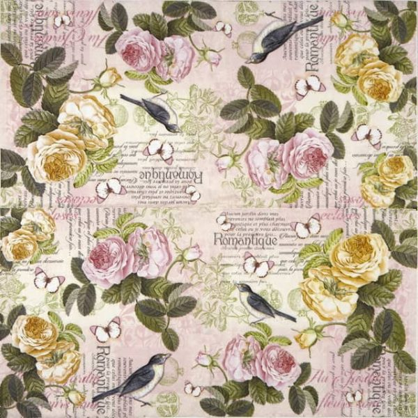 Lunch Napkins (20) - Romantique