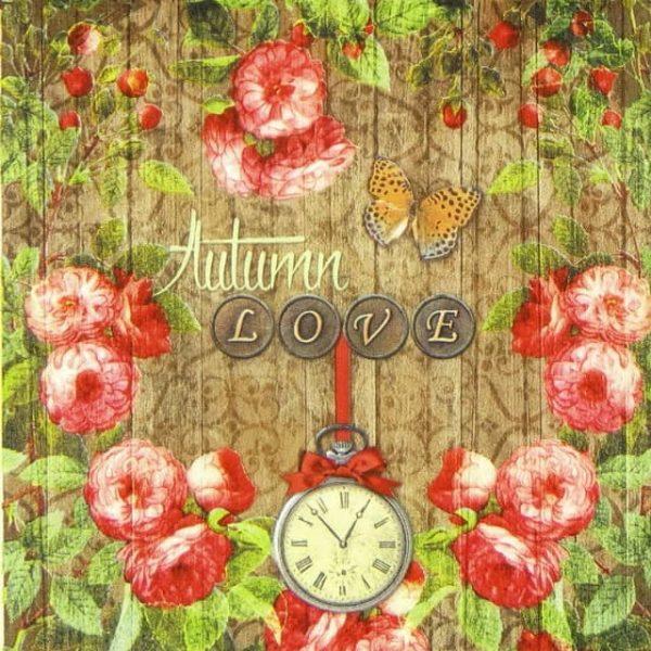 Lunch Napkins (20) - Autumn Love