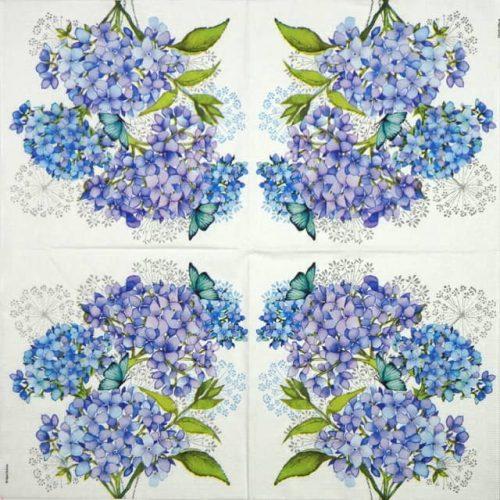 Paper Napkin - Hydrangea Provencale