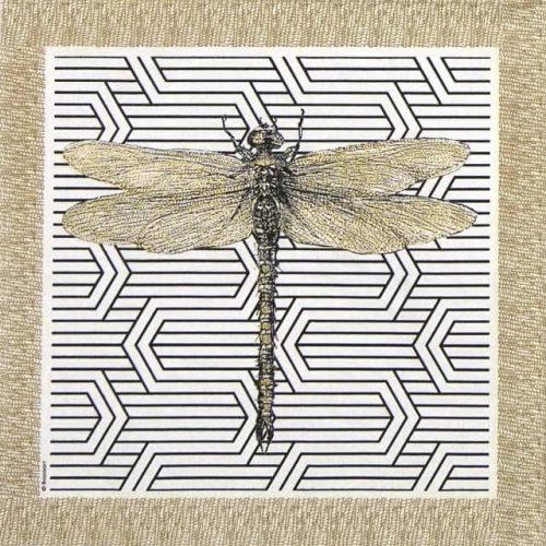 Paper Napkin - Bazaart: Dragonfly