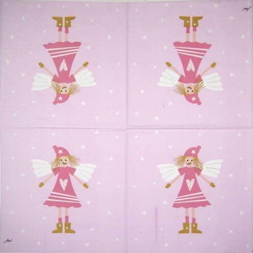 Paper Napkin - Lucy Rosé