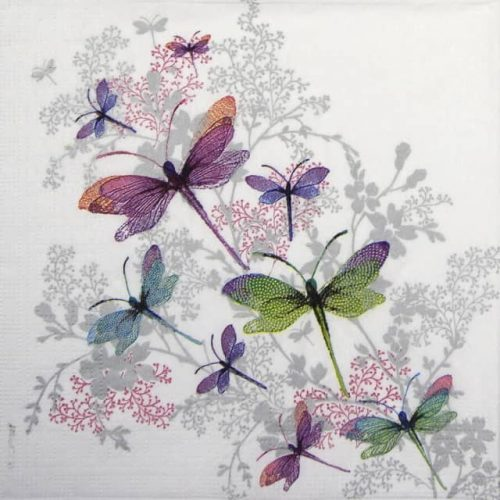Lunch Napkins (20) - Nigel Quiney: Dragonfly Groove