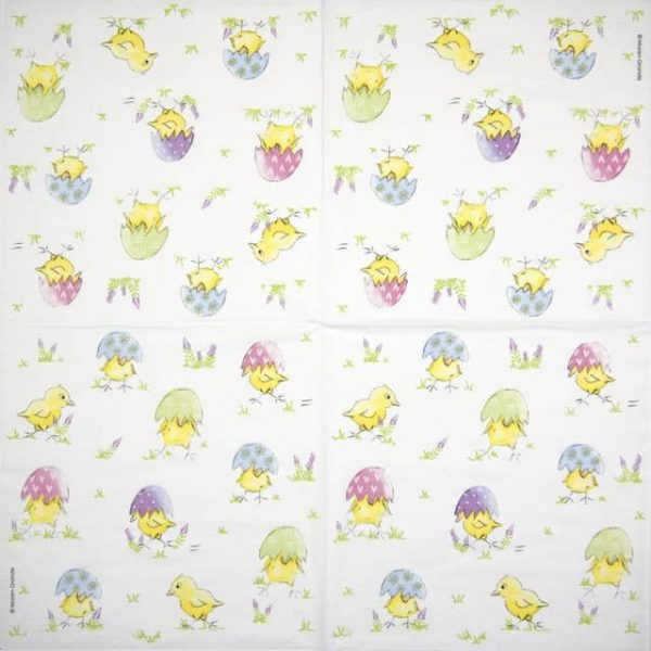 Paper Napkin - Maren Grande: Easter Chick