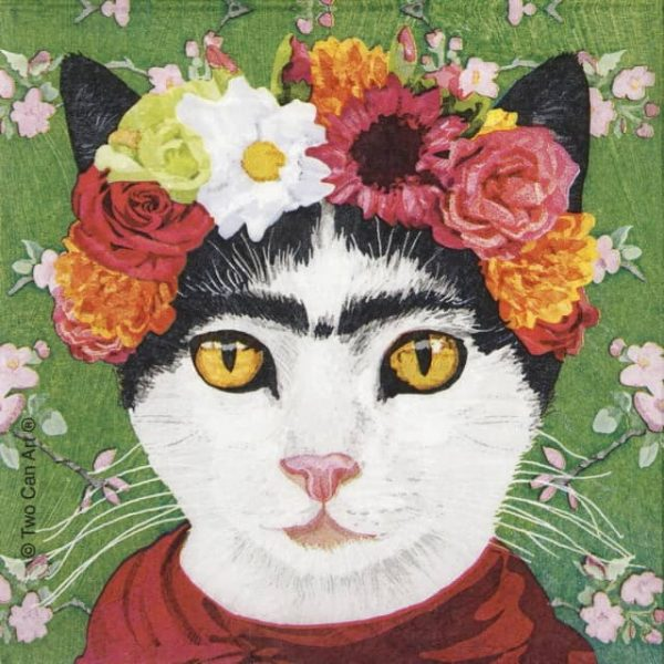 Paper Napkin - Two Can Art: Frida