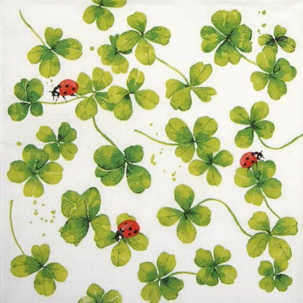 Paper Napkin - Carola Pabs: Luck