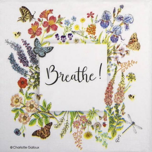 Paper Napkin - Charlotte Galloux: Nature Breath