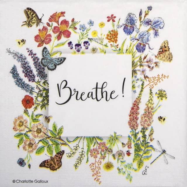Paper Napkin - Charlotte Galloux: Nature Breath