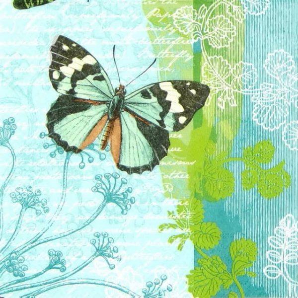 Paper Napkin - Flying Friends