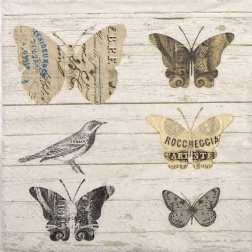 Paper Napkin - Paper Butterfly