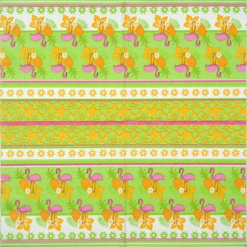 Paper Napkin - Tropical Pattern