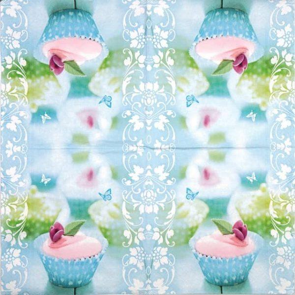 Paper Napkin - Sweet cupcake