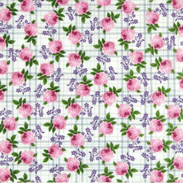 Paper Napkin - Rose Pattern