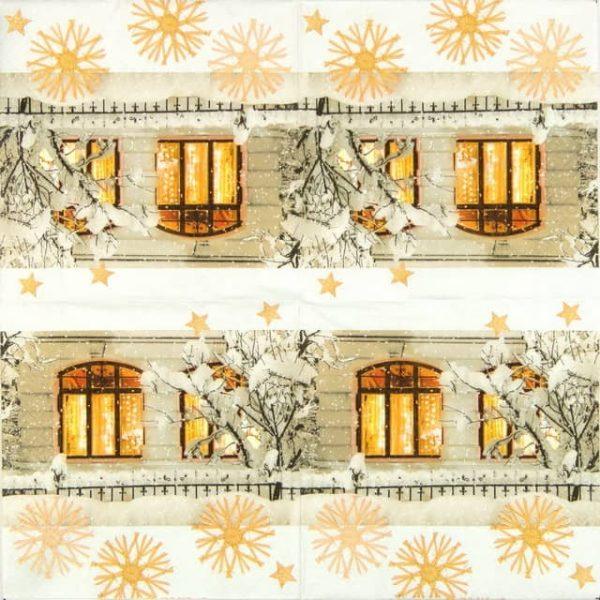 Paper Napkin - Warm Light