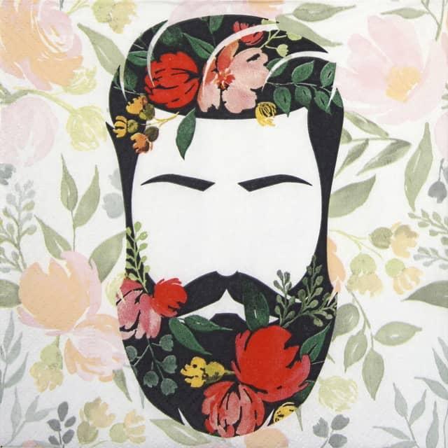 Lunch Napkins (20) - Beard n flowers