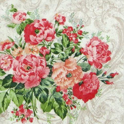Paper Napkin - Untamed Roses
