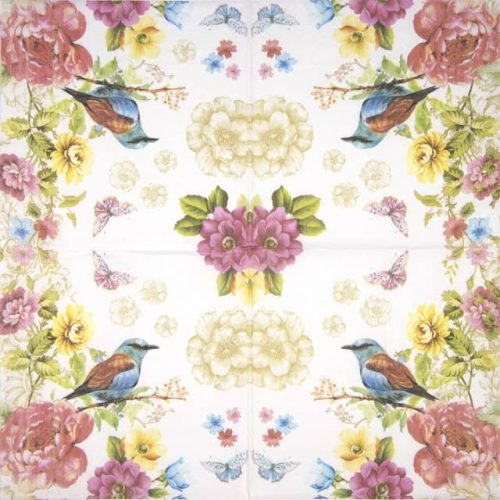 Paper Napkin - Bird Paradise