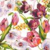 Paper Napkin - Violet Charm