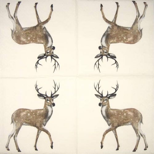 Lunch Napkins (20) - Walking Deer