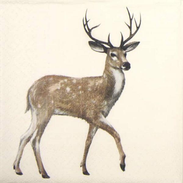 Lunch Napkins (20) - Walking Deer
