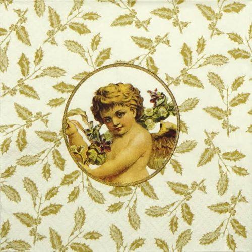 Paper Napkin - Angel Medallion