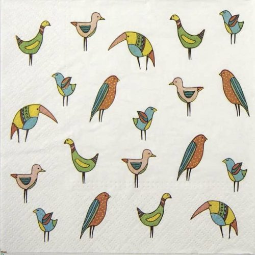 Paper Napkin - Bird Friends