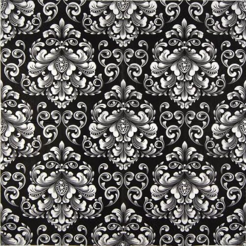 Paper Napkin - Beautiful Moments black