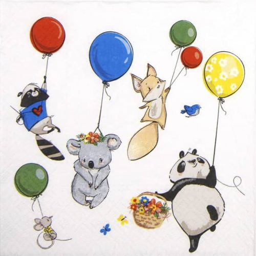 Paper Napkin - Animals Party