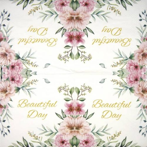 Paper Napkin - Special Flowers