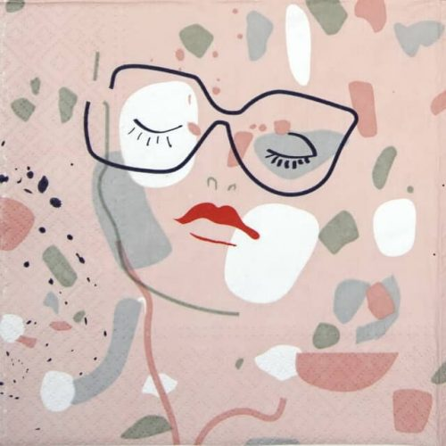 Paper Napkin - Face Shape