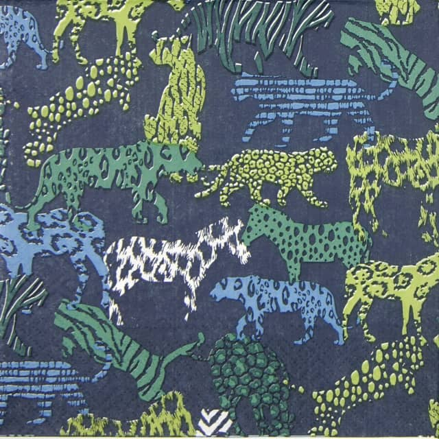 Paper Napkin - Jungle Prints