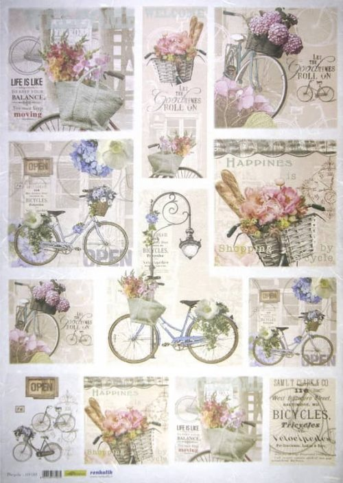 Rice Paper - Bycicle