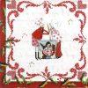 Lunch Napkins (20) - Silke Leffler: In the Christmas bakery