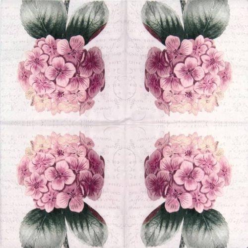 Paper Napkin - Hortensia