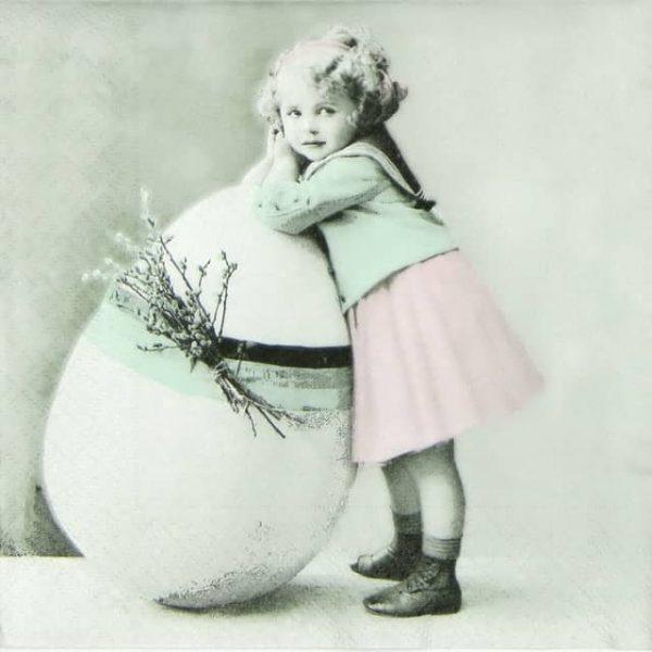 Paper Napkin - Easter Egg
