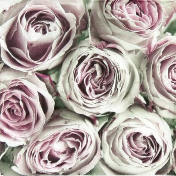 Paper Napkin - Bunch of Pink Roses