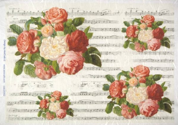 Rice Paper - Roses and Music
