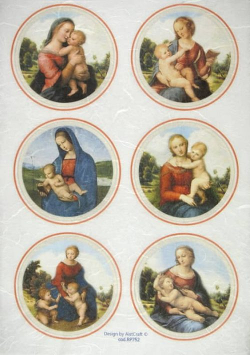 Rice Paper - Madonna and child